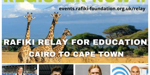 Rafiki Relay for Education – registration now open