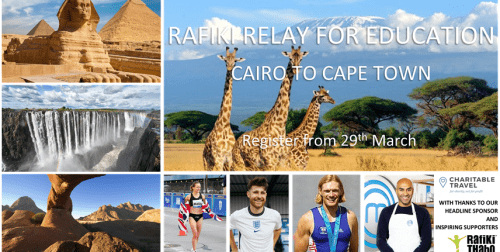 Rafiki Relay for Education – Cairo to Cape Town